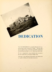 Page 8, 1948 Edition, University of Toledo - Blockhouse Yearbook (Toledo, OH) online yearbook collection