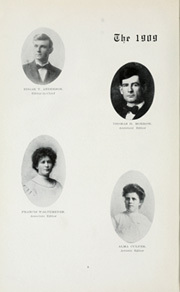 Page 14, 1909 Edition, University of Colorado - Coloradan Yearbook (Boulder, CO) online yearbook collection