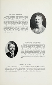 Page 17, 1909 Edition, University of Colorado - Coloradan Yearbook (Boulder, CO) online yearbook collection