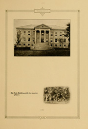 Page 17, 1920 Edition, University of Colorado - Coloradan Yearbook (Boulder, CO) online yearbook collection