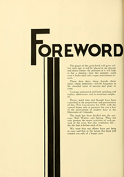 Page 12, 1935 Edition, University of Colorado - Coloradan Yearbook (Boulder, CO) online yearbook collection