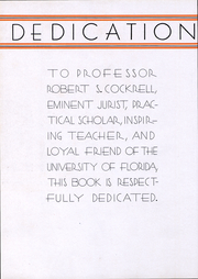 Page 8, 1934 Edition, University of Florida - Tower Seminole Yearbook (Gainesville, FL) online yearbook collection