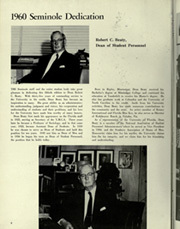 Page 12, 1960 Edition, University of Florida - Tower Seminole Yearbook (Gainesville, FL) online yearbook collection