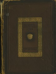 University of Georgia - Pandora Yearbook (Athens, GA) online yearbook collection, 1922 Edition, Cover