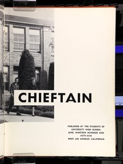 Page 7, 1955 Edition, University High School - Chieftain Yearbook (Los Angeles, CA) online yearbook collection