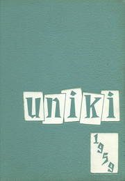University High School - Uniki Yearbook (Honolulu, HI) online yearbook collection, 1959 Edition, Cover