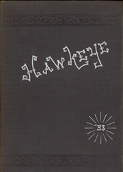 University of Iowa - Hawkeye Yearbook (Iowa City, IA) online yearbook collection, 1893 Edition, Cover