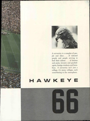University of Iowa - Hawkeye Yearbook (Iowa City, IA) online yearbook collection, 1966 Edition, Page 7