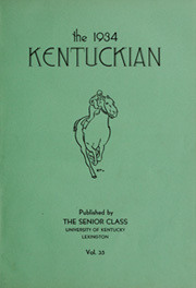 Page 7, 1934 Edition, University of Kentucky - Kentuckian Yearbook (Lexington, KY) online yearbook collection