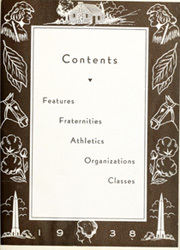 Page 11, 1938 Edition, University of Kentucky - Kentuckian Yearbook (Lexington, KY) online yearbook collection