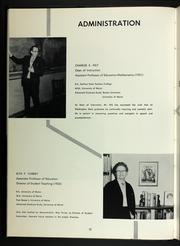 Page 16, 1965 Edition, University of Maine Machias - Washingtonia Yearbook (Machias, ME) online yearbook collection