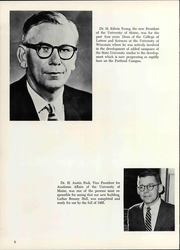 Page 10, 1966 Edition, University of Maine at Portland - Umpire Yearbook (Portland, ME) online yearbook collection
