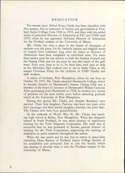 Page 8, 1966 Edition, University of Maine at Portland - Umpire Yearbook (Portland, ME) online yearbook collection