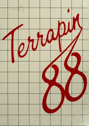 University of Maryland College Park - Terrapin / Reveille Yearbook (College Park, MD) online yearbook collection, 1988 Edition, Cover