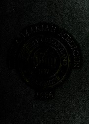 University of Maryland School of Medicine - Terrae Mariae Medicus (Baltimore, MD) online yearbook collection, 1986 Edition, Cover