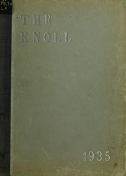 University of Massachusetts Lowell - Sojourn / Knoll Yearbook (Lowell, MA) online yearbook collection, 1935 Edition, Cover