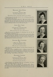 Page 13, 1935 Edition, University of Massachusetts Lowell - Sojourn / Knoll Yearbook (Lowell, MA) online yearbook collection