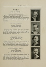 Page 15, 1935 Edition, University of Massachusetts Lowell - Sojourn / Knoll Yearbook (Lowell, MA) online yearbook collection