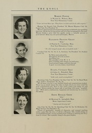 Page 16, 1935 Edition, University of Massachusetts Lowell - Sojourn / Knoll Yearbook (Lowell, MA) online yearbook collection
