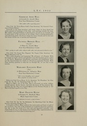 Page 17, 1935 Edition, University of Massachusetts Lowell - Sojourn / Knoll Yearbook (Lowell, MA) online yearbook collection