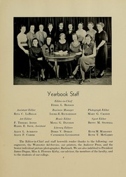 University of Massachusetts Lowell - Sojourn / Knoll Yearbook (Lowell, MA) online yearbook collection, 1937 Edition, Page 9 of 72