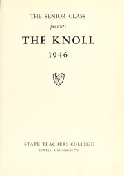 Page 7, 1946 Edition, University of Massachusetts Lowell - Sojourn / Knoll Yearbook (Lowell, MA) online yearbook collection
