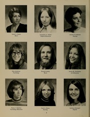 Page 8, 1974 Edition, University of Massachusetts Lowell - Sojourn / Knoll Yearbook (Lowell, MA) online yearbook collection