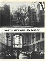 University of Michigan Law School - Quad Yearbook (Ann Arbor, MI) online yearbook collection, 1965 Edition, Page 9