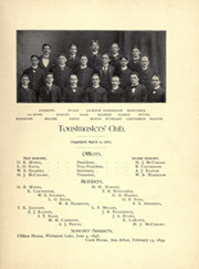 University of Michigan - Michiganensian Yearbook (Ann Arbor, MI) online yearbook collection, 1899 Edition, Page 137 of 418