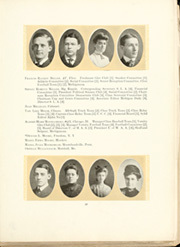 University of Michigan - Michiganensian Yearbook (Ann Arbor, MI) online yearbook collection, 1905 Edition, Page 37