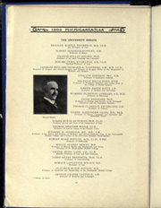 Page 16, 1909 Edition, University of Michigan - Michiganensian Yearbook (Ann Arbor, MI) online yearbook collection