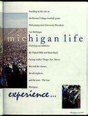University of Michigan - Michiganensian Yearbook (Ann Arbor, MI