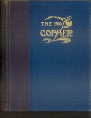 University of Minnesota - Gopher Yearbook (Minneapolis, MN) online yearbook collection, 1910 Edition, Cover