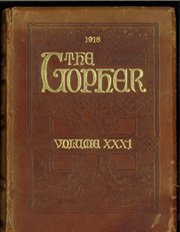 University of Minnesota - Gopher Yearbook (Minneapolis, MN) online yearbook collection, 1918 Edition, Cover