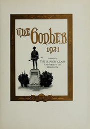 Page 7, 1921 Edition, University of Minnesota - Gopher Yearbook (Minneapolis, MN) online yearbook collection