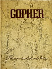 University of Minnesota - Gopher Yearbook (Minneapolis, MN) online yearbook collection, 1940 Edition, Cover