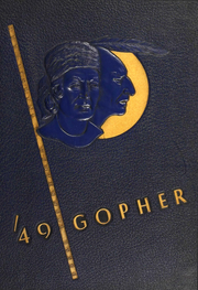 University of Minnesota - Gopher Yearbook (Minneapolis, MN) online yearbook collection, 1949 Edition, Cover
