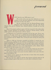 Page 8, 1949 Edition, University of Minnesota - Gopher Yearbook (Minneapolis, MN) online yearbook collection