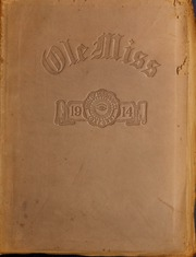 University of Mississippi - Ole Miss Yearbook (Oxford, MS) online yearbook collection, 1914 Edition, Cover