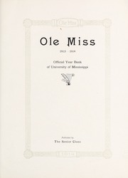 Page 9, 1914 Edition, University of Mississippi - Ole Miss Yearbook (Oxford, MS) online yearbook collection