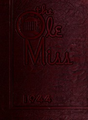 University of Mississippi - Ole Miss Yearbook (Oxford, MS) online yearbook collection, 1944 Edition, Cover