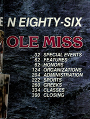 Page 7, 1986 Edition, University of Mississippi - Ole Miss Yearbook (Oxford, MS) online yearbook collection