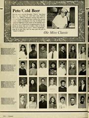 University of Mississippi - Ole Miss Yearbook (Oxford, MS) online yearbook collection, 1991 Edition, Page 334 of 408