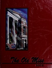 University of Mississippi - Ole Miss Yearbook (Oxford, MS) online yearbook collection, 2002 Edition, Cover