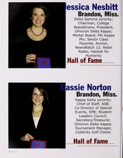 University of Mississippi - Ole Miss Yearbook (Oxford, MS) online yearbook collection, 2004 Edition, Page 96 of 424