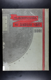 University of Missouri at Kansas City - Kangaroo Yearbook (Kansas City, MO) online yearbook collection, 1938 Edition, Cover