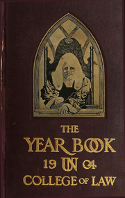 University of Nebraska College of Law - Yearbook (Lincoln, NE) online yearbook collection, 1906 Edition, Cover