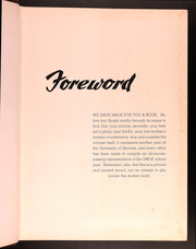 Page 7, 1941 Edition, University of Nevada - Artemisia Yearbook (Reno, NV) online yearbook collection