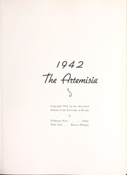 Page 7, 1942 Edition, University of Nevada - Artemisia Yearbook (Reno, NV) online yearbook collection
