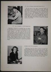 Page 12, 1946 Edition, University of New Mexico NROTC - Mark Yearbook (Albuquerque, NM) online yearbook collection